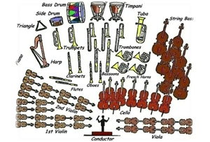 Instruments in an orchestra and seating arrangements – Motor City ...