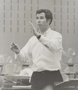 Early David Daniels conducting