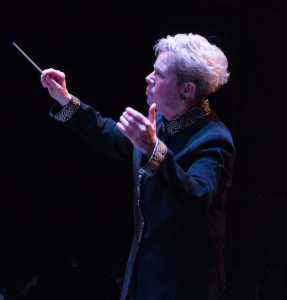 Nan Washburn guest directs The Motor City Symphony Orchestra
