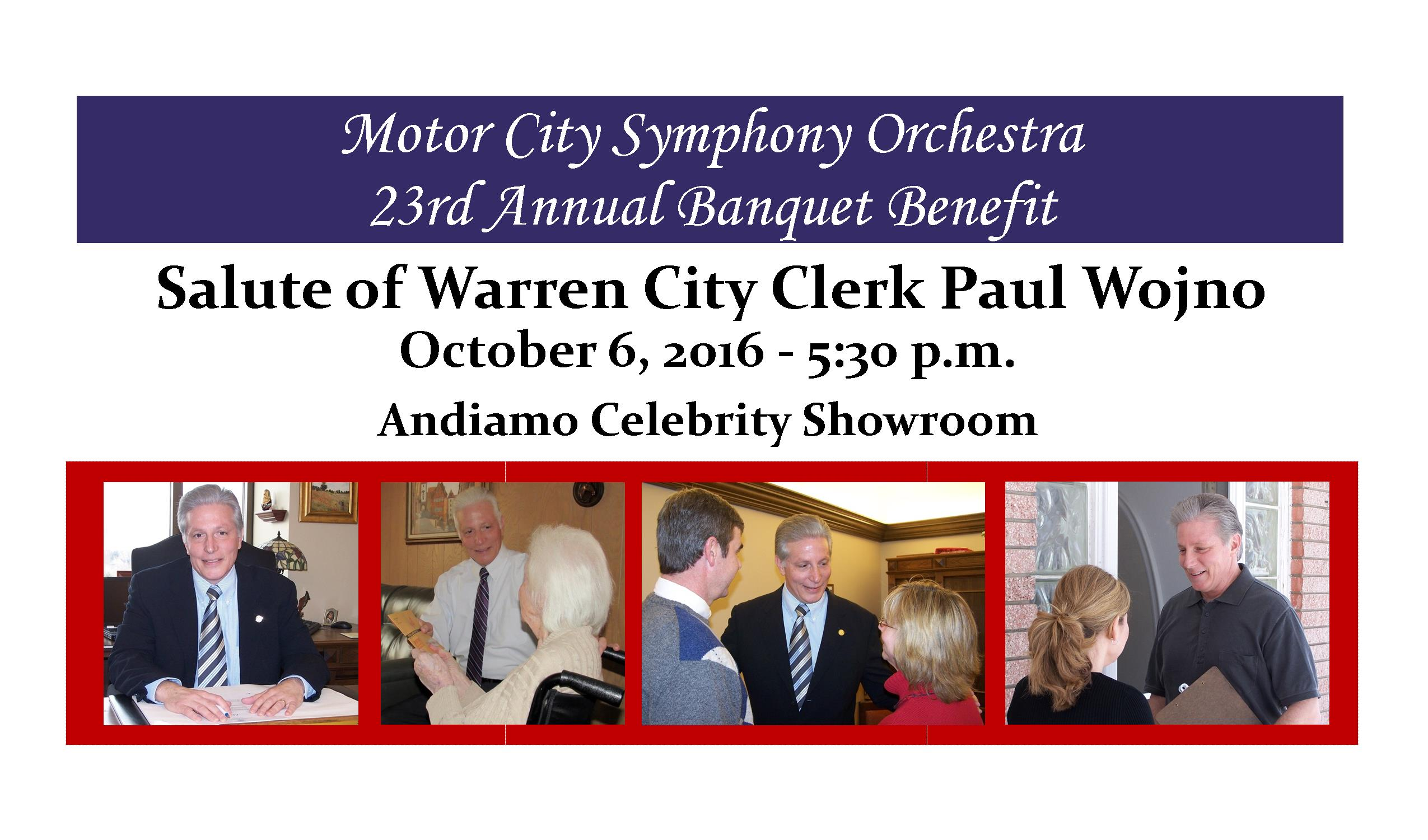 MSCO Season 44 Salute or Warren City Clerk Paul Wojno